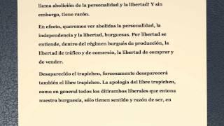 El Manifiesto Comunista Karl Marx Y Friedrich Engels Youtube