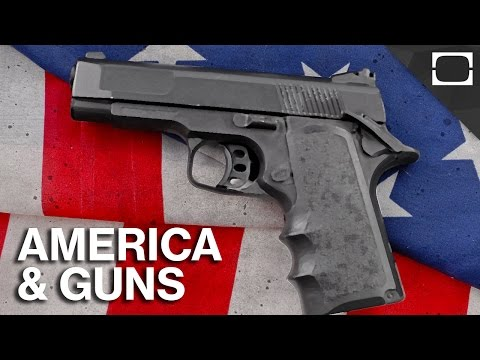 Why Does America Love Guns?