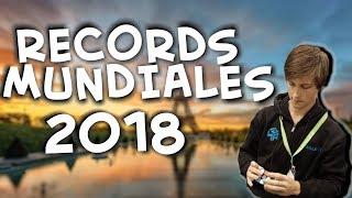 Los RECORDS mundiales del CUBO de RUBIK 2018