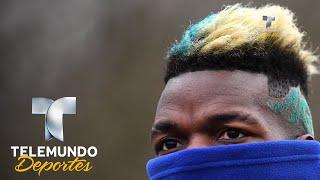 Peinado de Pogba desata la ira del Manchester United | Copa Mundial FIFA Rusia 2018 | Telemundo