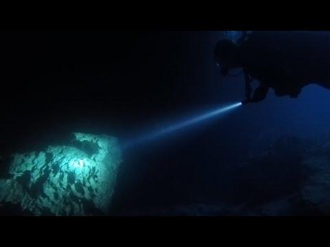 Scuba Diving Devil's Den Prehistoric Spring And Underwater Demo Orcatorch D530 Light