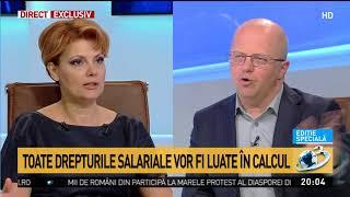 Lia Olguţa Vasilescu, despre schimbările majore cu privire la legea pensiilor