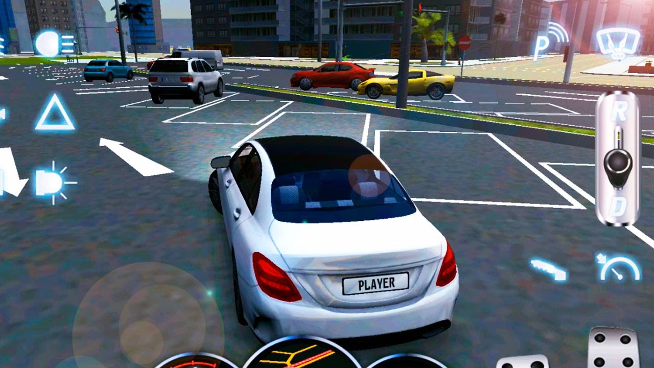 Driving School 2017   Mercedes Benz C Class Unlocked   Android GamePlay  FullHD