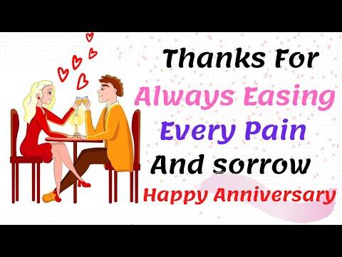 Happy Anniversary My Love 💋 Anniversary Love Poem 💌 (I Love You Poem) My Bee