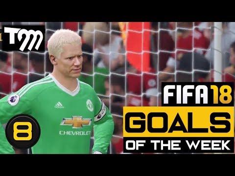 Fifa 18 - TOP 10 GOALS OF THE WEEK #8