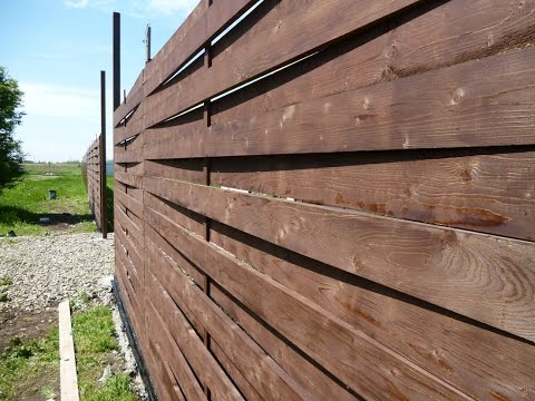 Стоимость деревянного забора. На примере австрийской плетёнки