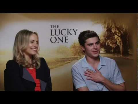 "Zac Efron's ""very easy"" sex scene with Taylor Schilling in The Lucky One"