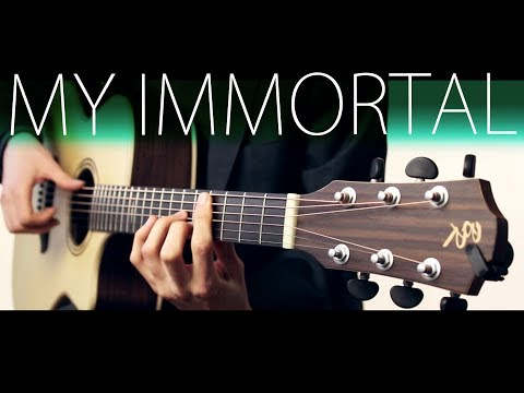Evanescense  My immortal⎪Acoustic guitar