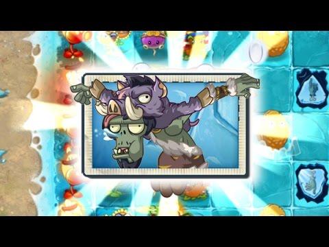 Plants Vs Zombies 2 Nuevo Zombies Jefe del Viento (Versión China)