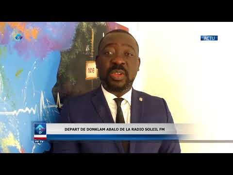 Plusprestv/Bénin/ Politique: départ de Donklam ABALO   de la Radio Soleil FM