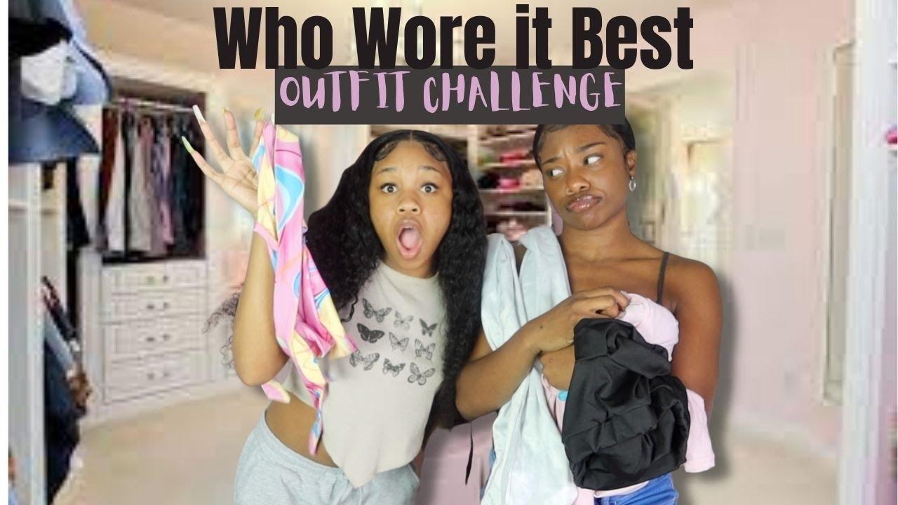 WHO WORE IT BEST  CHALLENGE ?! FT: JURLYSHE