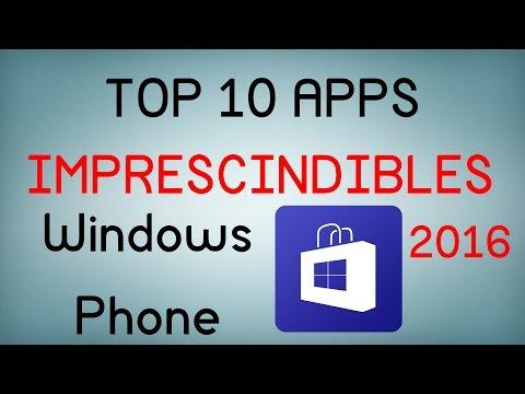 Top 10 Apps imprescindibles para Windows Phone (2016)