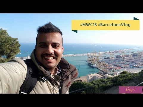 #MWC18 #Day 1 In Barcelona Spain #MrtechyInBarcelona [ A NON-TECH VIDEO]
