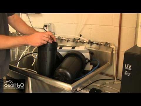 Ideal H2O - 600GPD & 1200GPD RO Unit - Replace Sediment Filter