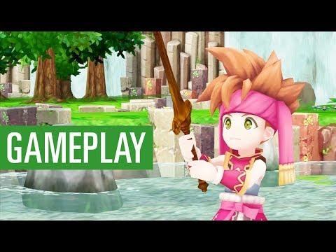 Secret of Mana: Erstes Gameplay zum Remake des JRPGs