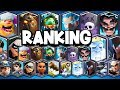 Ranking ALL 16 Legendary Cards | BIG Changes In 2019!
