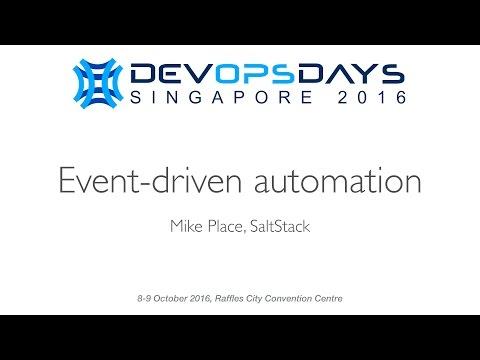 Event-driven automation - DevOpsDays Singapore 2016