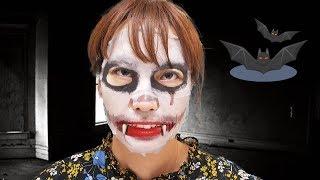신기한 레이디버그 마스크팩!! 서은이의 미라큘러스 레이디버그 화장 가방 스노우앱 귀신 마스크팩 Ladybug Mask Pack for Kids