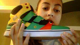 vlado footwear review/unboxing knights rasta and knights red white and black Thumbnail