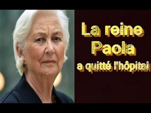 La reine Paola a quitté l'hôpital: sa convalescence se poursuit au Château du Belvédère