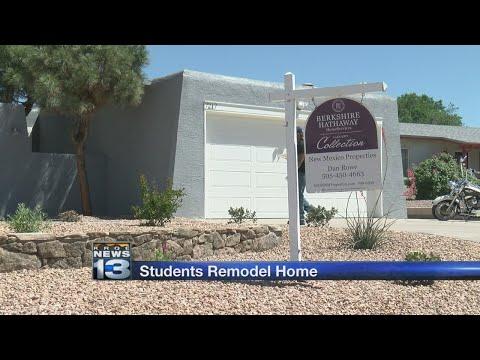 Volunteers flip house to raise scholarship funds for Albuquerque school