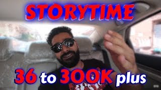 Storytime | 36 Subs to 300K plus | The Great Mohammad ali