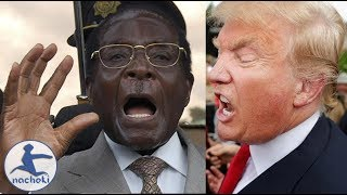 Mugabe Candidly Warning Africans About US President Donald Trump