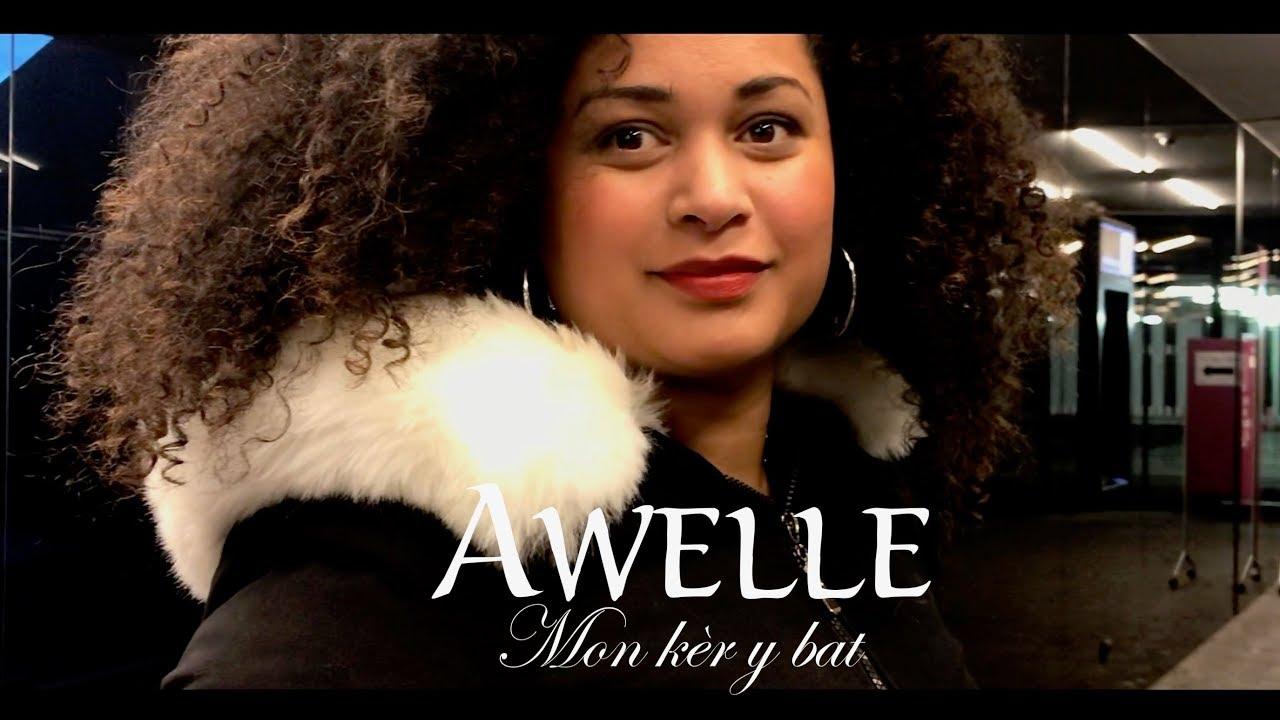Download AWELLE - Mon kèr y bat ( Clip Officiel ) #DavidLouisinProduction