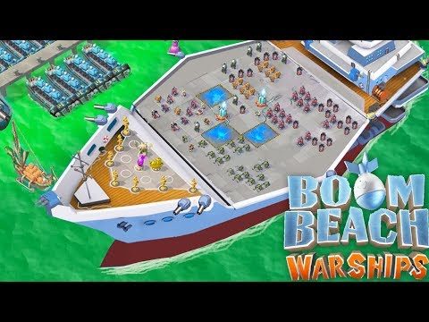 Discussing the NEW Boom Beach WARSHIP UPDATE!