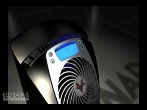 vornado ultrasonic humidifier at bed bath & beyond - youtube