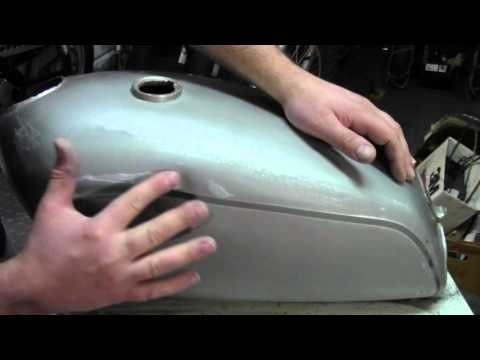 How to paint a motorcycle gas tank