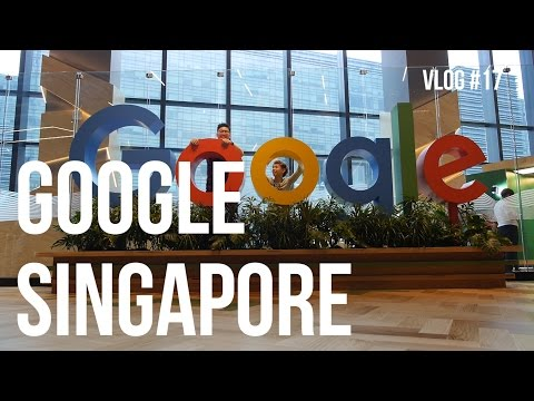Google Office Singapore #YTCreatorDay - Vlog #17