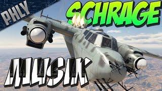 SCHRÄGE MUSIK - Upward Facing CANNONS (War Thunder Plane Gameplay)