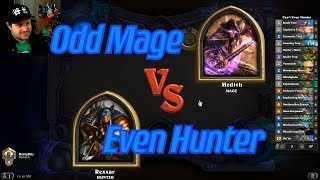 Even Hunter vs Odd Mage - Hearthstone