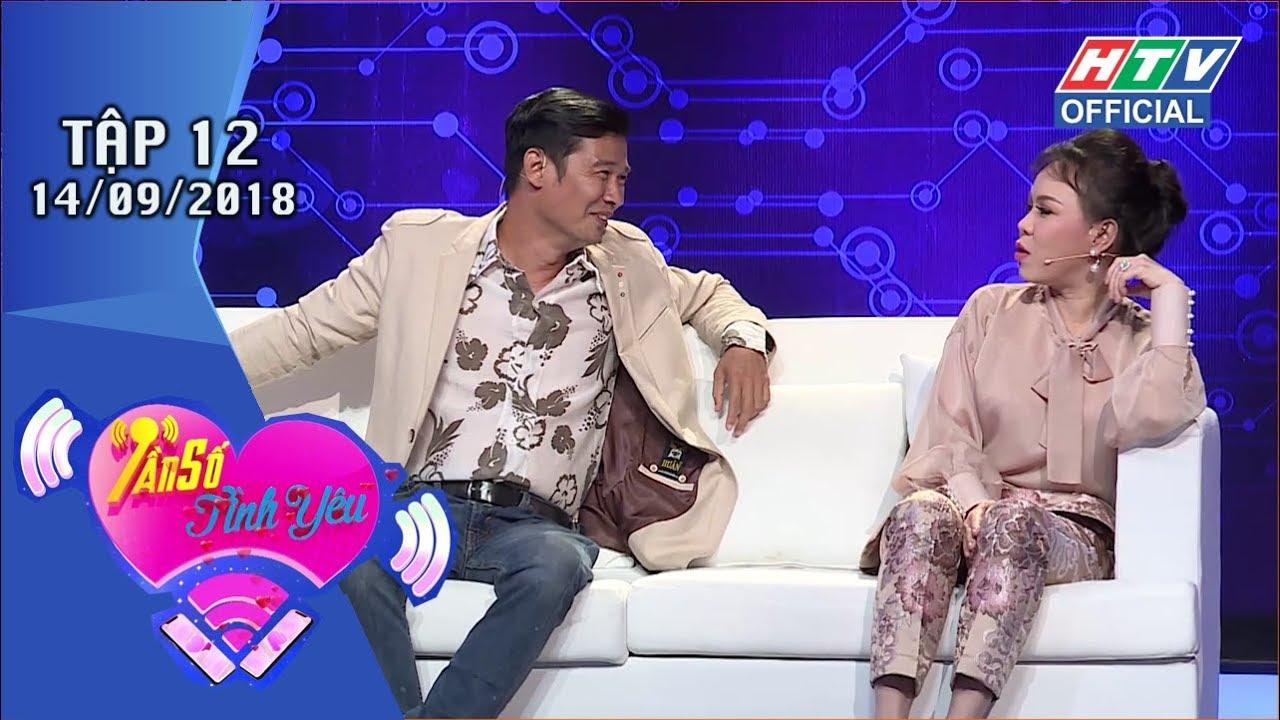 image HTV TẦN SỐ TÌNH YÊU | Việt Hương tư vấn người chơi nên chọn anh Tiết Cương | TSTY #12 FULL