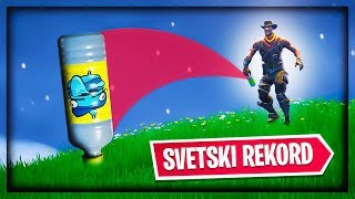 FORTNITE BOTTLE FLIP SVETSKI REKORD !!!