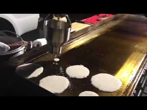 How to Make Pancakes on a Giant Griddle