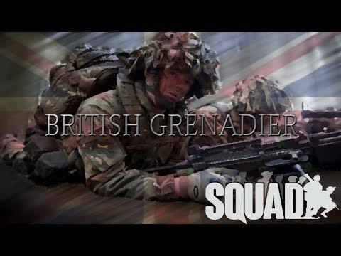 SQUAD - BRITISH GRENADIER VS RUSSIAN GROUND FORCES UNIT  