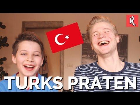 TURKS PROBEREN TE PRATEN - MET OSCAR | Kalvijn