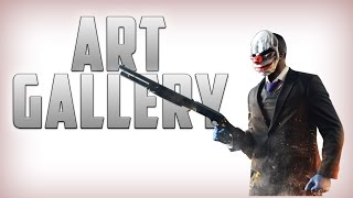 PAYDAY 2: ART GALLERY - Death Wish (Solo Stealth)