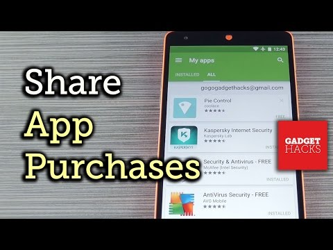Share Android App Purchases With Your Entire Family [How-To]