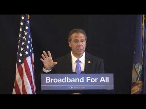 Governor Cuomo Announces Sweeping Progress Toward Nation-Leading Goal of Broadband For All