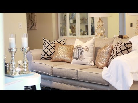 GLAM LIVING ROOM TOUR