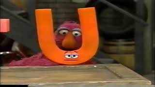 My Sesame Street Home Video Learning About Letters Part 8