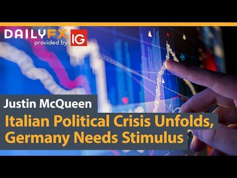 Italian Political Crisis Unfolds, Germany Needs Stimulus
