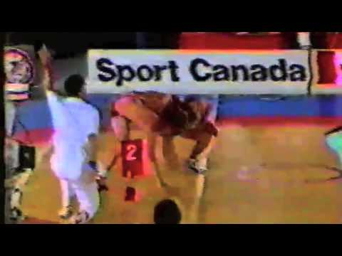 1988 Canada Cup: 90 kg Final Doug Cox (CAN) vs. Greg Edgelow (CAN)