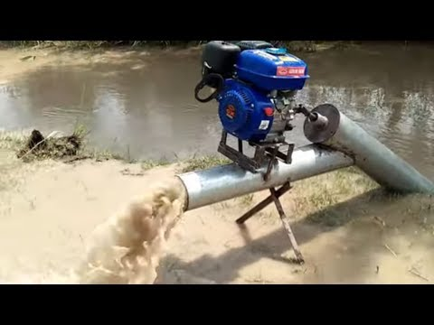 How To Make Water Pump 6 Inches With Engine Farmer Machine How To Make Water Pump 6 Inch Machine