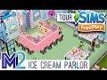 Sims FreePlay - Ice Cream Parlor (Original Design)