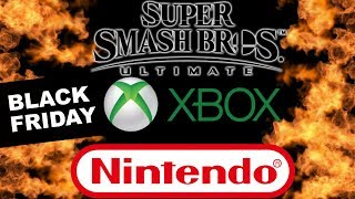 Xbox Two Controller Leaked Copying Nintendo - Best Black Friday Gaming Deals - Smash Ultimate DLC