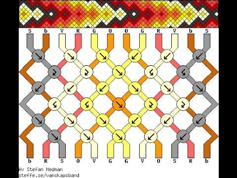 Схема плетение феничек